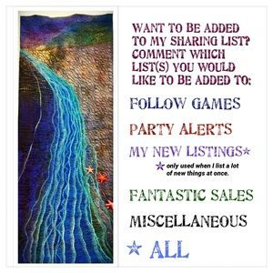 WANT TO BE ON MY TAG LIST?
